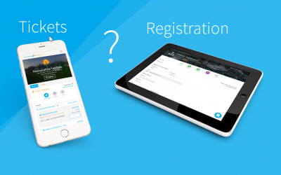 Tickets and Registration Part 1: What's the Difference?